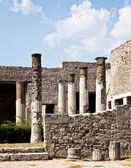 Pompeii - archaeological site — Stock Photo