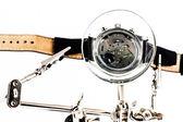 Watch repairing operation — Stock Photo