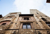 San Gimignano towers — Stock Photo
