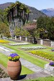 Giardino di villa taranto — Foto Stock