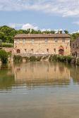Toscane dorp — Stockfoto