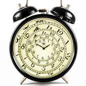 Hypnotic Clock — Stock Photo