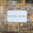 Stock Photo: PiazzRoma