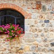 Tuscan window — Stock Photo