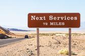 Next service — Foto Stock