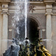 Foto Stock: Dragons fountain, Villa d'Este - Tivoli