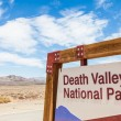 Death Valley Entrance — Stock Photo