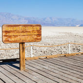 Badwater point — Foto de Stock