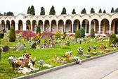Arquitectura de cementerio - europa — Foto de Stock
