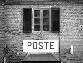 Italian postal office — Stock Photo