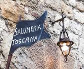 Tuscany butchery — Stock Photo