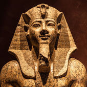 Pharaoh statue — Stock Photo