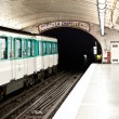 Paris Metro Station — Stock Photo #9941123