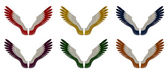 Angel Wings Pack - Assorted Single Colours — Stock Photo