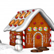 Gingerbread House — Stock Photo #9383599