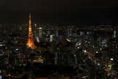 Tokyo skyline — ストック写真