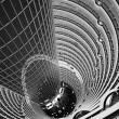 Atrium inside Jin Mao Tower, Shanghai, China — ストック写真