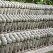 kleine buddhistische Jizo-Statuen — Stockfoto