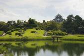 Koraku-en garden, Okayama — Stock Photo