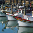 Fisherman's Wharf Fishing Boats — Stock Photo