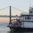 San Francisco Belle at dusk — Stock Photo
