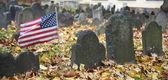 Granary Burying Ground, Boston — Stock Photo
