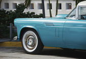 South Beach Vintage Car — Stock Photo