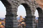 Aqueduct of Segovia, Spain — Stock Photo