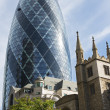 The Gherkin Building, London — Stock Photo