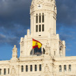 Plaza de Cibeles, Madrid — Stock Photo