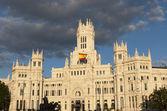 Plaza de Cibeles, Madrid — Stock Photo