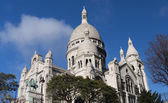 Sacre Coeur Basilica on a clear day — Stock Photo