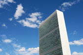 UN Headquarters, NYC — 图库照片