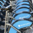 Barclays cykel uthyrning, london — Stockfoto #39762333
