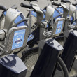 Barclays cykel uthyrning, london — Stockfoto #44077693
