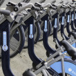 Barclays cykel uthyrning, london — Stockfoto #44077697