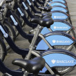 Barclays cykel uthyrning, london — Stockfoto #44077703