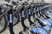 Barclays Cycle Hire, London — Stock Photo