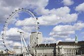London Eye, UK — Stock Photo