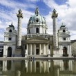 Karlskirche, Vienna — Stock Photo #50373971