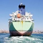Tanker ship — Stock Photo