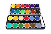 Watercolor box — Stock Photo