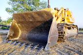 Excavator bulldozer — Stock Photo