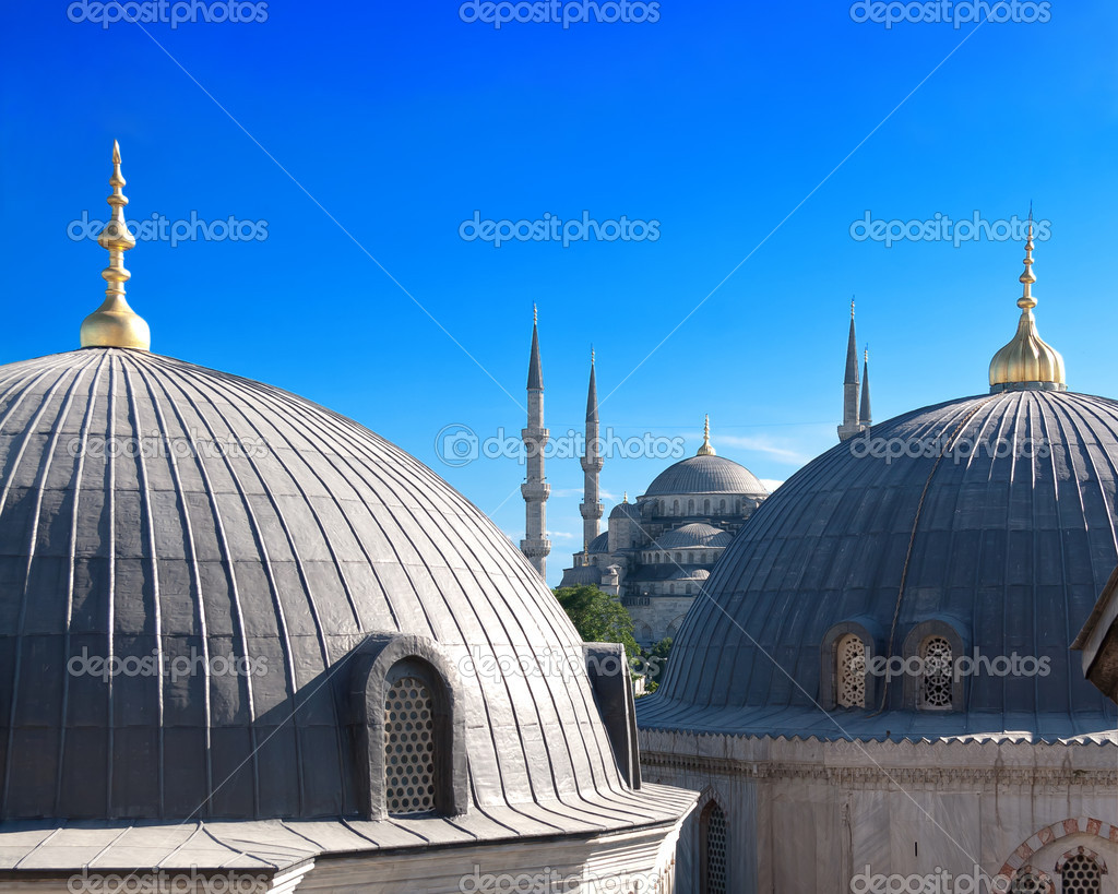 Blue Mosque, Istanbul, Turkey — Stock Photo #12759062