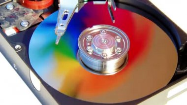 HDD spin — Stockvideo