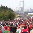 Stock Video: Intercontinental Istanbul EurasiMarathon run