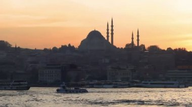 Suleymaniye Mosque — Stock Video