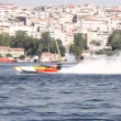 Stock Video: Power Boat