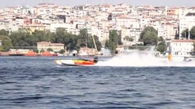 Power Boat — Video Stock