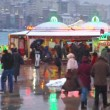 Stock Video: It's snowing in Istanbul